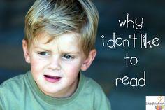 4 Big Reasons Kids Don't Like Reading