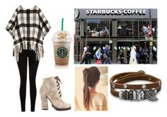 """""""Starbucks with crush after school (2)"""" by em-styles-16 ❤ liked on Polyvore featuring Current/Elliott, MICHAEL Michael Kors, Michael Antonio, women's clothing, women's fashion, women, female, woman, misses and juniors"""