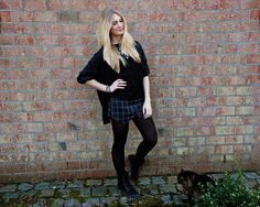 Polished Cats: Outfit: Black Grunge