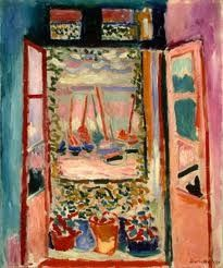 The Open Window by Henry Matisse 1903
