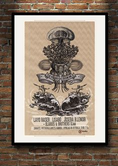 cartel para concierto / marzo 2013