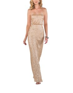 DescriptionSorella Vita Modern Metallic Style 8690Fulllength bridesmaid dressStrapless necklineBlousonbodiceDelicate strapsMatte sequin