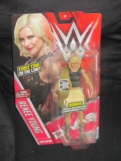 WWE Lucha Libre Figura MATTEL Stephanie McMahon #40 En Caja Nuevo Divas