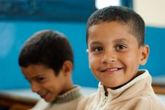 Moroccan schoolboys