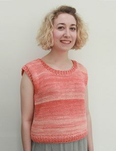 Simple Delphi Slipover Stockinette Stitch Free Knitting Pattern ⋆ Knitting  Bee 5eee55b1f