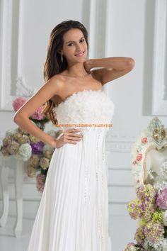 Schönes Günsitges Brautkleid 2013 aus Chiffon