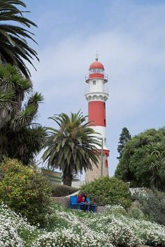 The Lighthouse in Swakopmund - Namibia We used to go there nearly every holidays to watch the ocean.