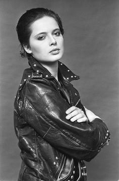 Isabella Rossellini by Lynn Goldsmith