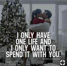 I only have one life and I only want to spend it with you. What do you think? Qoutes About Love, Love Quotes For Her, Romantic Love Quotes, Quotes For Him, Relationships Love, Relationship Quotes, Life Quotes, Girly Quotes, English Love Quotes