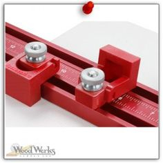 """Woodpeckers 1"""" Flip Stop - Flip Stops add a level of convenience to your drill press table fence. These new flip stops feature a zero side-play design that will ensure accurate, repeatable functionality. woodwerks.com #woodworking #woodpeckers"""