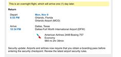 travel agency confirmation page - Google Search