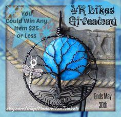 Come enter MadamVonTrinket's 4K Likes Giveaway on Facebook! Visit my page for details.