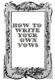 A Stylish Affair by Jessie: How to Write Your Wedding Vows