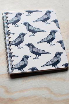 Cute raven notebook!