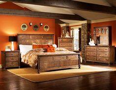Modern Rustic Bedroom Furniture rustic bedroom furniture sets for urban lifestyle | rustic bedroom