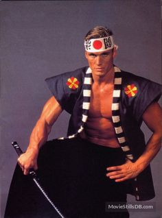 Showdown In Little Tokyo - Promo shot of Dolph Lundgren