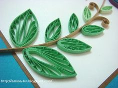 leaves.  Might be more interesting with different shades of green or warm fall colors.