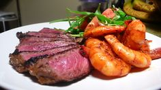 Susan's Dry Rubbed Steak & Shrimp with Watermelon Salad Quick Weeknight Meals Recipe Contest 2009