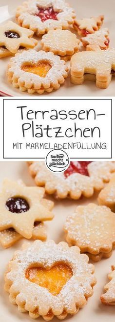 Die besten Spitzbuben The best rascals or terrace cookies in the world! Wonderful Classic Recipe of my grandmother Margarethe. The filled Christmas cookies with jam also succeed baking beginners. Almond Recipes, Baking Recipes, Cookie Recipes, Best Chocolate Cake, Chocolate Recipes, Easy Holiday Cookies, Christmas Cookies, Winter Desserts, Macaron