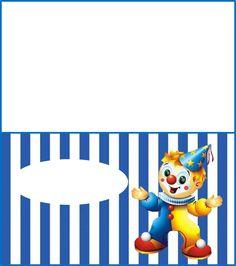 tarjetas de payasos para imprimir - Google Search