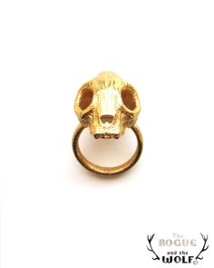 40% OFF CLEARANCE SALE Gold Cat Skull Ring, skull ring, animal skull ring, rock goth ring, Valentine gift, skull jewelry jewellery, for the. $29,40, via Etsy.