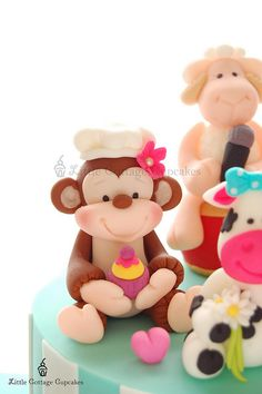 Baker Monkey! by Little Cottage Cupcakes, via Flickr