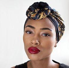 Fresh Lengths: Style | Top Knot Head Wrap
