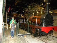 Spoorwegmuseum in de winter