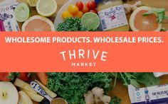 Here are 14 products you can buy on the Thrive Market website for less money than you'd spend in the grocery store. Gourmet Recipes, Real Food Recipes, Healthy Recipes, Rumchata Recipes, Brine Recipe, Turkey Brine, Lamb Stew, Healthy Food Delivery, How To Eat Paleo