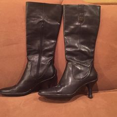 Saleleather Naturalizer Boots