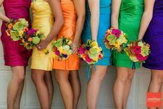 Rainbow Wedding Attire
