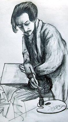 Savador Dali. drawing