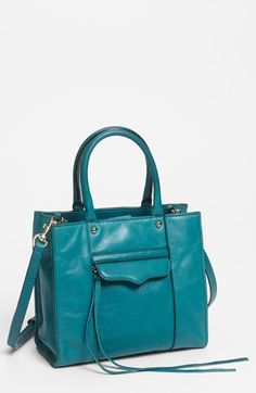 Rebecca Minkoff 'M.A.B. Mini' Leather Tote available at #Nordstrom