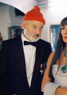 """You know, I'd be jealous about you staying at Allie's place, except I always thought he was kind of a closet queer."" The Life Aquatic"