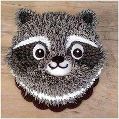 Raccoon cake                                                                                                                                                                                 More