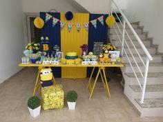festa minions decoração - Pesquisa Google