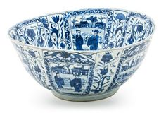 """A Chinese bowl in """"Kraak"""" porcelain from Wanli, from 1573-1620   Balclis Barcelona www.balclis.com #chinese #bowl"""