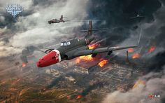 March Wallpaper and Calendar World of Warplanes