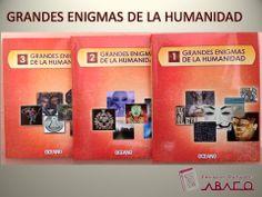 Grandes enigmas de la humanidad #edicionesculturalesABACO