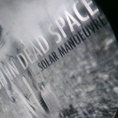 Working on SOLAR MANOEUVREs new album cover Dead Space, Album Covers, Solar, Scrapbook, Scrapbooking, Guest Books, Scrapbooks