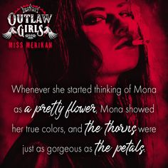Outlaw Girls by Miss Merikan Book Girl, I Love Books, Pretty Flowers, True Colors, Reading, Girls, Brother, Movie Posters, Writing