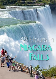 48 hours in Niagara Falls from Canada and the USA.