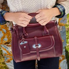 Dooney & Bourke | Winter Fashion    Deep Hues | Deep Hues Handbag | Deep Hues Accessory | Deep Hues Accessories | Deep Hues Purse | Fashion | Style