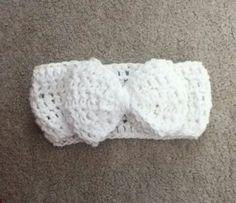 Headband crocheted by Me.