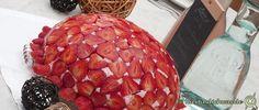 Die Erdbeerkuppeltorte ist sehr lecker und einfach zuzubereiten. Ein absoluter Hingucker. Ausführliche Bildanleitung für den Backanfänger. Geburtstag, Fest