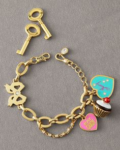 Charmbracelet Juicy Couture, have Charms need Bracelet in Gold! <3