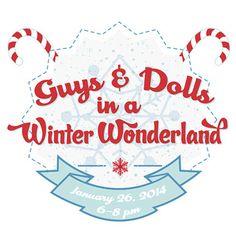 Logo Customization Design: Guys and Dolls Winter Wonderland