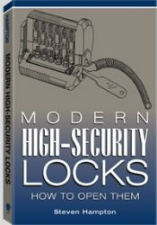 Modern High Security Locks - How to Open Them by Steven Hampton Master locksmith Steven Hampton, author of the best-selling Secrets of Lock Picking & Advanced Lock Picking Secrets,