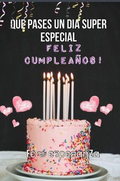 Spanish Birthday Wishes, Happy Birthday Wishes For Her, Funny Happy Birthday Meme, Happy Birthday Greetings, Birthday Pins, Happy Birthday Quotes, Happy Birthday Images, Birthday Messages, Birthday Pictures