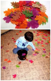 Little Family Fun: Leaf Toss & Pick-up